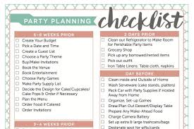 Party Planning Access My Free Party Planning Checklist Fantabulosity