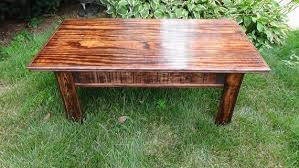 pallet reclaimed wood coffee table