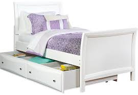 girls twin bed with trundle. Modren Twin Kids Furniture Girls Trundle Beds White Daybed Br Bed  Ivyleague Ivy League To Twin With A