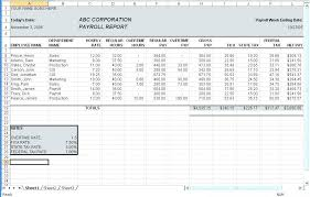Payroll Free Software Download Excel Free Software For Payroll In Excel Calculator Template South