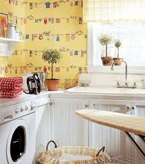 View in gallery Thibaut Laundry Room Wallpapers