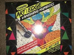 Radical modernist art movements such as cubism, futurism. Crayola Art With Edge Vanishing Numbers Kit Hidden Animal Pages Markers Case 19 99 Picclick