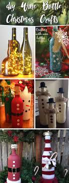 JOJO POST RECYCLE GENUS ART SMART CREATIVE IDEA  JOJO POST Wine Bottle Christmas Crafts