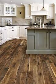 Wood Floor For Kitchens 17 Best Ideas About Rustic Wood Floors On Pinterest Rustic