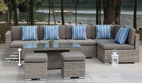 Gartenmöbel Rattan Polyrattan Garten Lounge Sitzgruppe Maia
