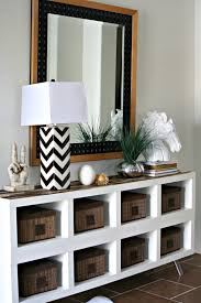 Make It: A Simple IKEA Shelf Gets A Paint Stick Makeover