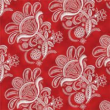 red white flower fabric Quilting Treasures 'Ceylon' - Flower ... & red white flower fabric Quilting Treasures 'Ceylon' 3 Adamdwight.com