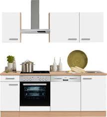 Optifit Küchenzeile Odense Ohne E Geräte Breite 210 Cm