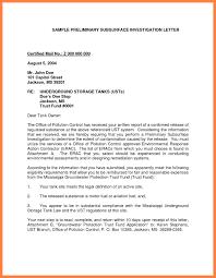 format for certified letter