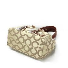 ... Coach Julia Logo Medium Apricot Totes larger image ...