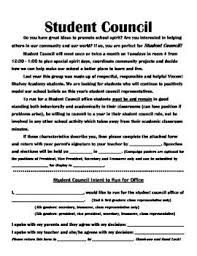 best student council activities ideas school complete student council forms packet