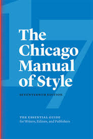 The Chicago Manual Of Style 17th Edition The University Of Chicago