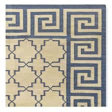 greek key area rug key border rug blue gray greek key area rug black and white