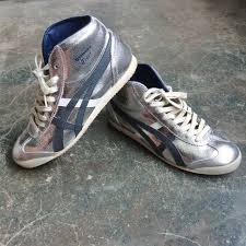 Charcoal Onitsuka Asics Silver Tiger Us Mexico 5 Sports Mid Carousell On Runner 7