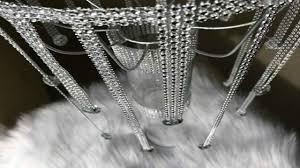easy bling diy chandelier idea dollar tree diy chandelier wedding decoration idea