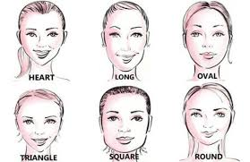 face shapes eyebrows