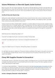 Connecticut Chevrolet Dealership