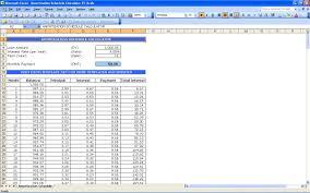 5 Year Amortization Schedule Excel Amortization Schedule Calculator