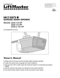 skillful chamberlain garage door installation chamberlain garage door opener installation instructions wageuzi