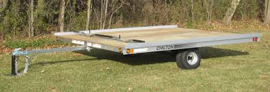 View our entire inventory of new or used trailers. Chilton Trailers Snowmobile Trailers