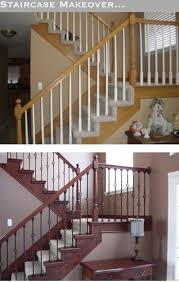Redo Stairs Cheap Best 25 Spindles For Stairs Ideas On Pinterest Wrought Iron