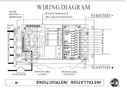 rv power converter wiring diagram gooddy org 12 volt rv wiring at Rv Electrical Wiring Diagram