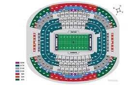 Cowboys Stadium Seating Chart Dallas Cowboys Stadium Seating Map Map Feccnederland