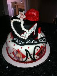 Pin Up Girls Night Out Cake My Cake Creations New Cake Design