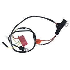 amp mustang alternator wiring harness w instrument 1971 alternator plug replacement at Alternator Wiring Harness