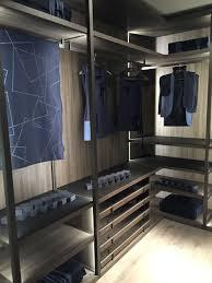 ergonomic walk in closet for the contemporary bedroom
