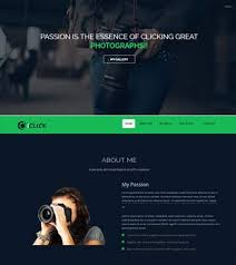 Best Free Photography Html Bootstrap Website Templates 2019