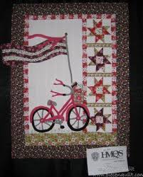 17 best Sports Themed Quilts images on Pinterest | Ad design ... & A patriotic bike quilt Adamdwight.com