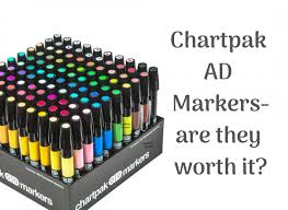 Chartpak Ad Markers Review Canyon Echoes