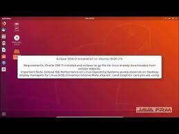 ubuntu 18 04 lts and java 11