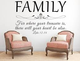 family wall decal living room wall