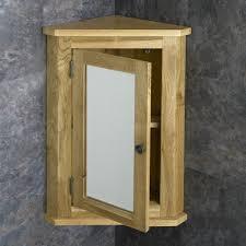oak wall mounted corner bathroom mirror cabinet basin inside corner bathroom mirror cabinet