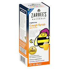 Zarbees Naturals Childrens Nighttime Cough Syrup Grape