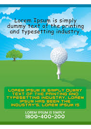 golf tour nt flyer templates fundraiser charity golf flyer template 6