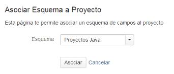 Esquema De Un Proyecto Asociar Esquemas A Proyectos Profields 3 0 X Español