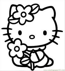 Small Picture 158 best Hello Kitty Coloring Pages images on Pinterest Drawings