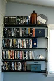 storage ideas best shelves on shelf diy dvd rack diy dvd shelf pallet wall mounted shelves