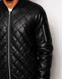 Quilted Leather Bomber Jacket Men | Jackets Review & Quilted Leather Er Jacket Men - The Quilting Ideas … Adamdwight.com