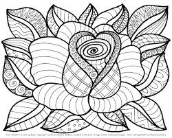 Coloring Pages Of A Flower Coloring Pages Flowers Advocacyhubinfo