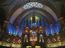 montreal old city quebec winter photo essay notre dame basilica montreal