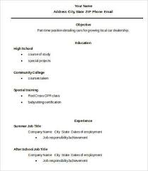 Importance Of A Resume High School Diploma Resume Importance Of A