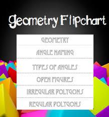 Flip Chart Covers Geometry Flip Chart