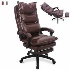 Executive PU leather Home High back Ergonomic <b>Luxury Office</b> ...