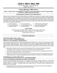 Ideas Of Project Manager Resume Samples Free Templates In Pdf