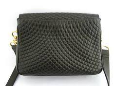 Vintage Bally bag! | Fashion/Style/Vintage | Pinterest | Bag & BALLY, vintage, quilted, black, leather, shoulder bag, 80's, designer  handbags at HauteDecades on Adamdwight.com