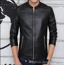 men s jacket brand motorcycle racing pu leather jackets with protection protection motorcycle jacket fashion men s coat top jacket mens jackets from